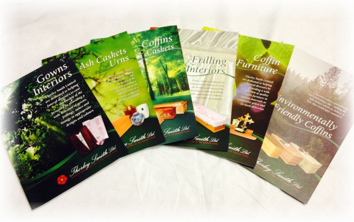 selection of brochures