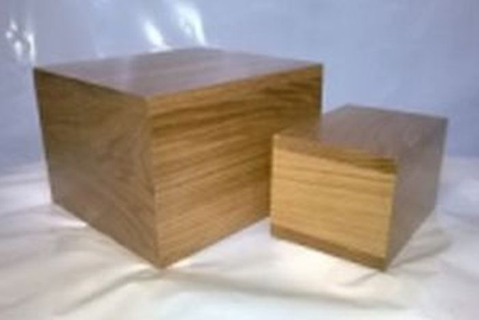 Thorley Smith Solid Oak Brick Ash Caskets