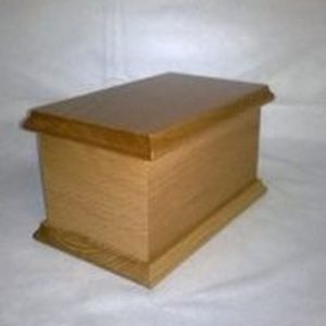 Thorley Smith Solid Oak Niche Casket