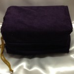 Purple Casket Bag