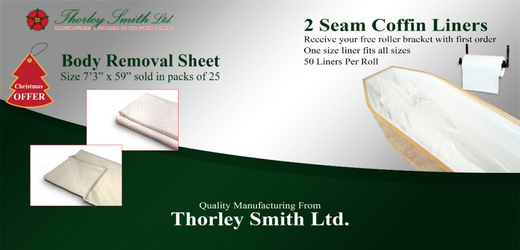Body removal sheet and 2 seam coffin liners and wall bracket