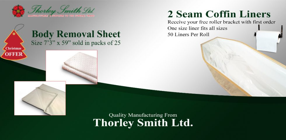 Body removal sheet plus the 2 seam coffin liners and wall bracket