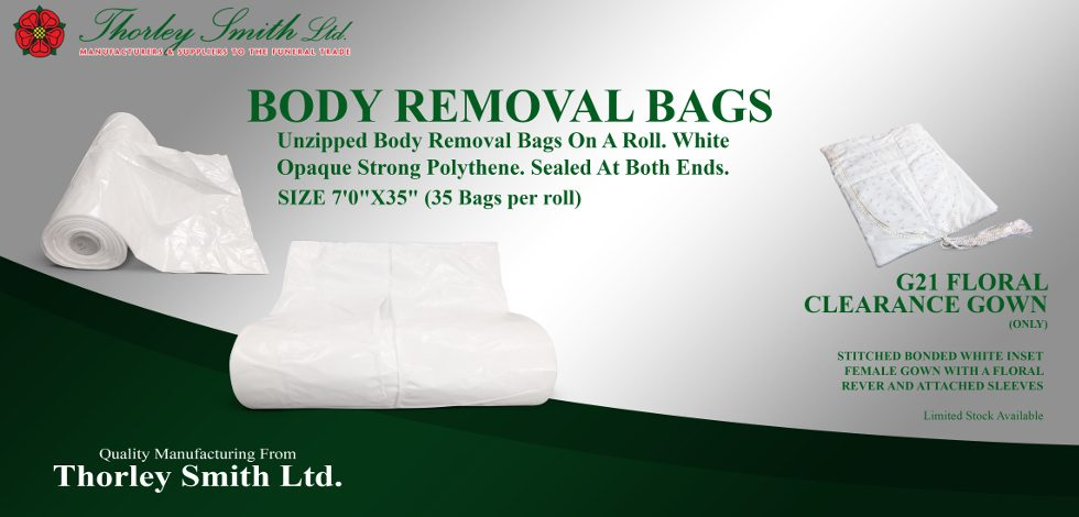 Unzipped Body Removal Bags On A Roll