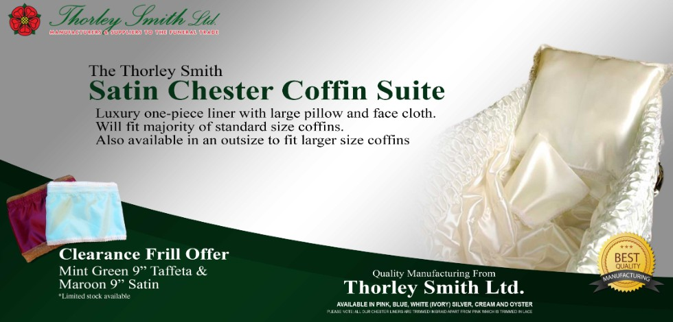 Satin Coffin Chester Suite